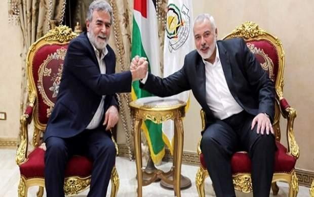 رهبران حماس و جهاد اسلامی دیدار کردند