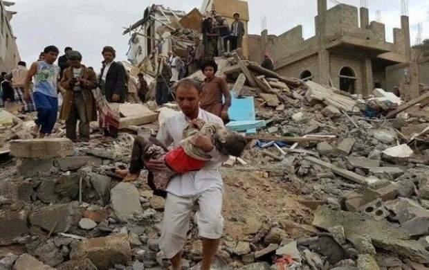 بمباران استان حجه توسط جنگندههای سعودی