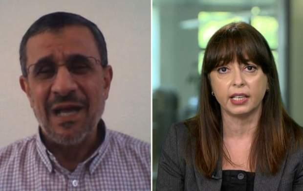 احمدی نژاد با شبکه معاند رادیو فردا هم گفتگو کرد!/ من با حصر موسوی و کروبی مخالفم/ ارتباطگیری امارات و بحرین با اسرائیل مسئله مهمی نیست/ فعلا برای حضور در انتخابات ریاست جمهوری نظری ندارم/ به فکر مسائل جهان و منطقه هستم/ مسائل مهمی در پیش است