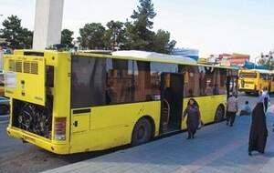 تشدید ضدعفونی اتوبوسهای تهران