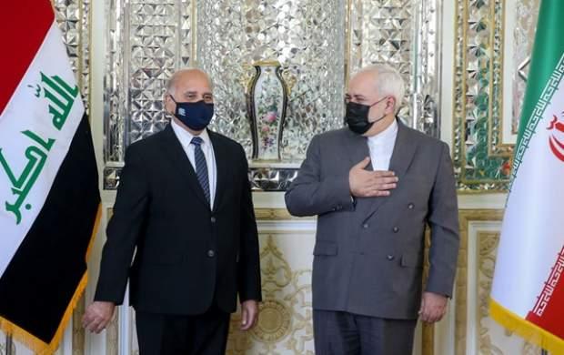 توئیت ظریف پس از دیدارش با همتای عراقی