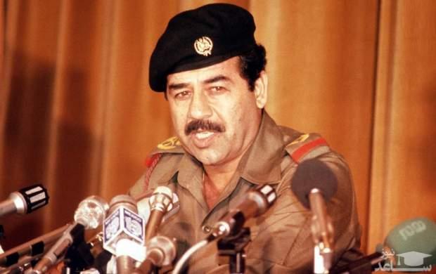 جمله کمتر شنیده شده از صدام