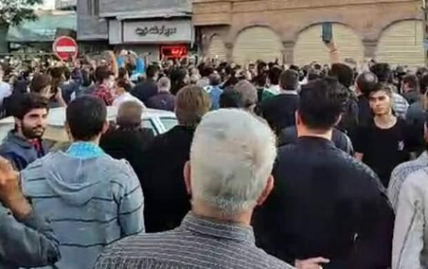 جزییاتی از تجمع امروز در تبریز +فیلم