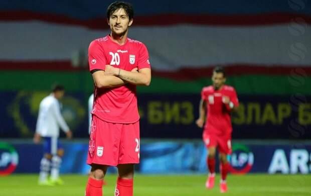 سردار آزمون از تیم ملی فوتبال ایران جدا شد