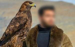 جلوهگری با عقاب طلایی در فضای مجازی!