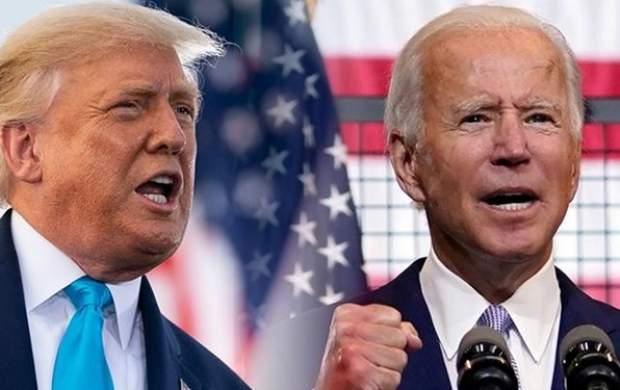 دوئل از راه دور ترامپ و بایدن