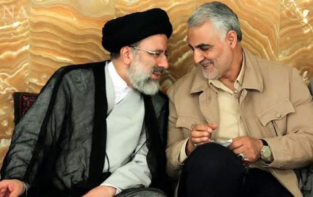 روایت رئیسی از حال حاج قاسم در حرمرضوی