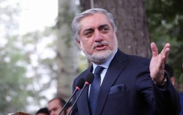«عبدالله عبدالله» وارد تهران شد