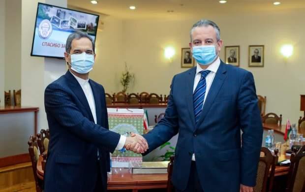 بررسی و پیگیری مسائل دانشجویان ایرانی در دیدار سفیر ایران با رئیس دانشگاه دولتی پزشکی بلاروس