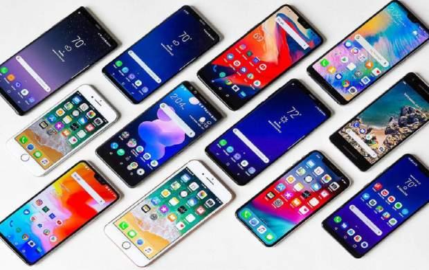 قیمت انواع گوشی موبایل در بازار +جدول