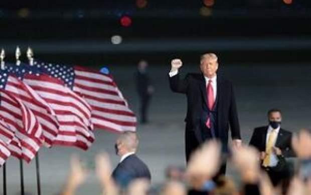 ترامپ: من در انتخابات شکست نخواهم خورد