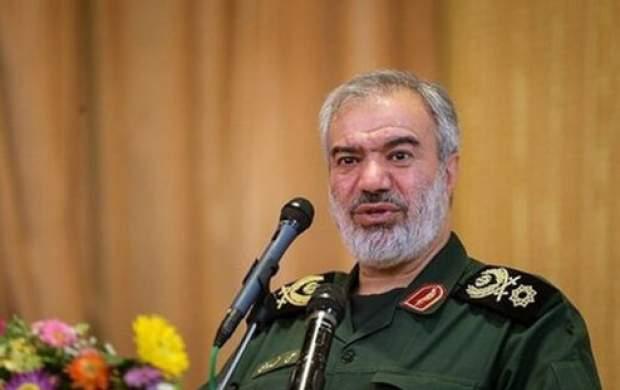 هشدار سردار فدوی به هرگونه تجاوز نظامی به ایران