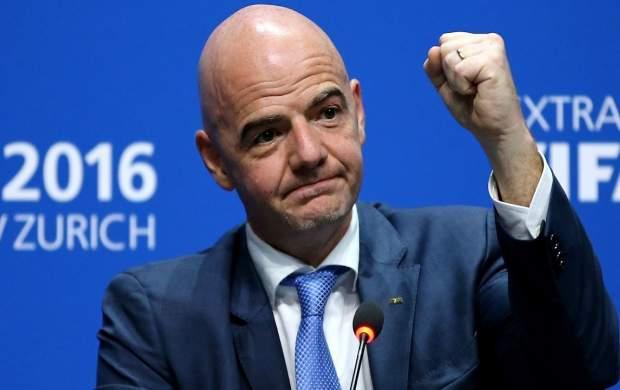 پیام تسلیت رئیس فیفا برای درگذشت یاوری