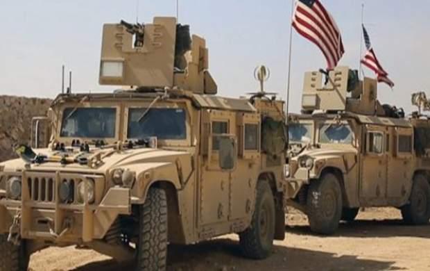 دهها خودروی زرهی آمریکا از سوریه وارد عراق شدند