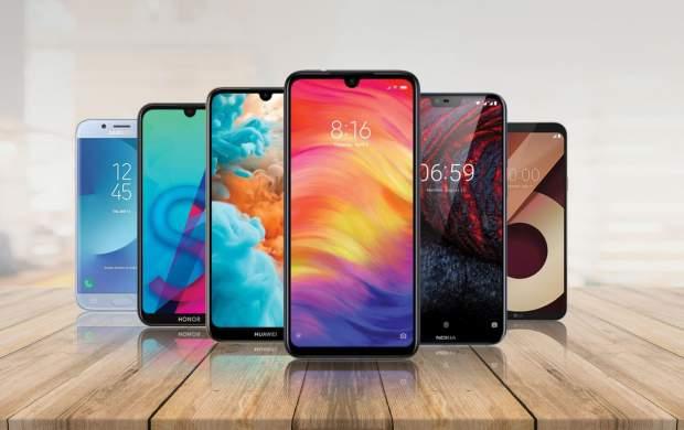 جدیدترین قیمت انواع گوشی موبایل+جدول