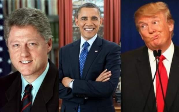 القاب جالب روسای جمهور و بانوان اول آمریکا