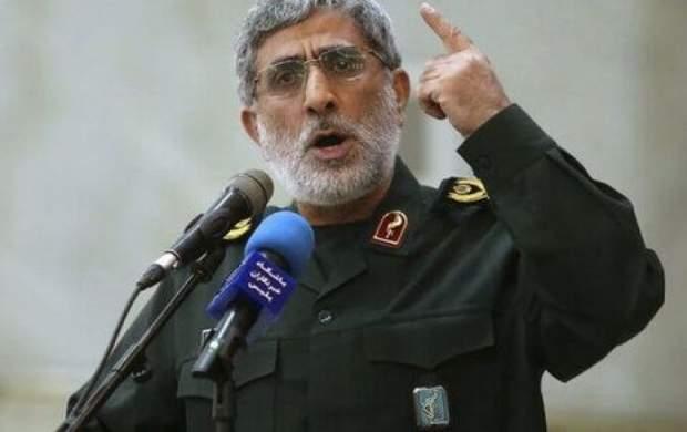 نظر صریح سردار قاآنی درباره مذاکره ایران با آمریکا/ گذشت زمانی که آنان بزنند و ما دفاع کنیم