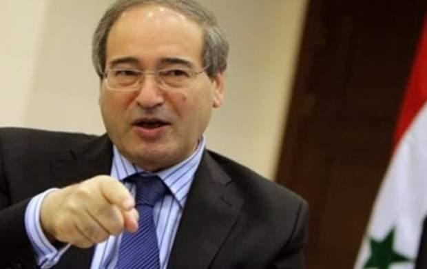 «فیصل المقداد» وزیر خارجه سوریه شد
