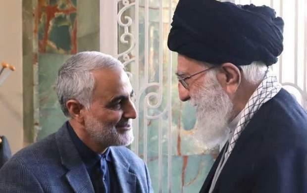 فیلم/ نامه حاج قاسم به رهبر انقلاب!