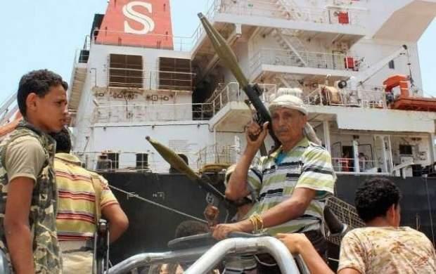 حمله انصارالله یمن به پالایشگاه نفت جده