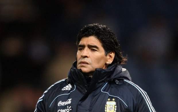 دیگو مارادونای افسانه ای درگذشت +فیلم