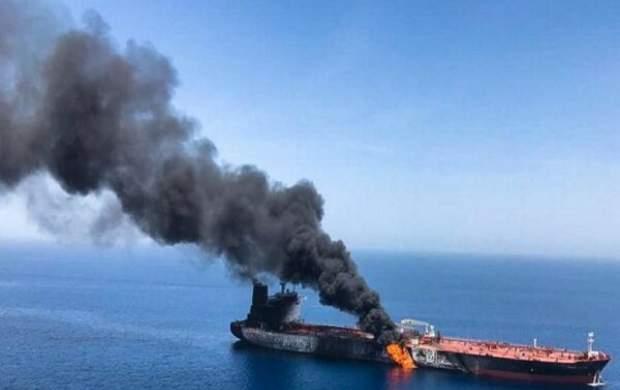 انفجار یک نفتکش یونانی در یکی از بنادر عربستان