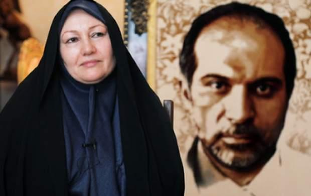 اشک همسر شهید علیمحمدی برای فخری زاده