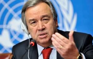 توصیه دبیر کل سازمان ملل: ایران خویشتن داری کند!