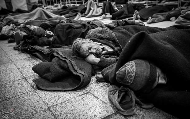 """شماره تماسی برای کمک به افراد """"بیخانمان"""""""