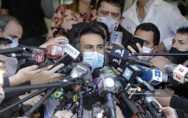 سکوت پزشک مارادونا شکست
