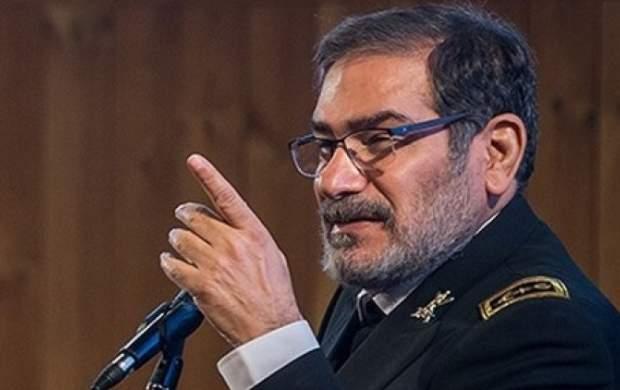 اظهارات شمخانی درباره ترور شهید فخریزاده