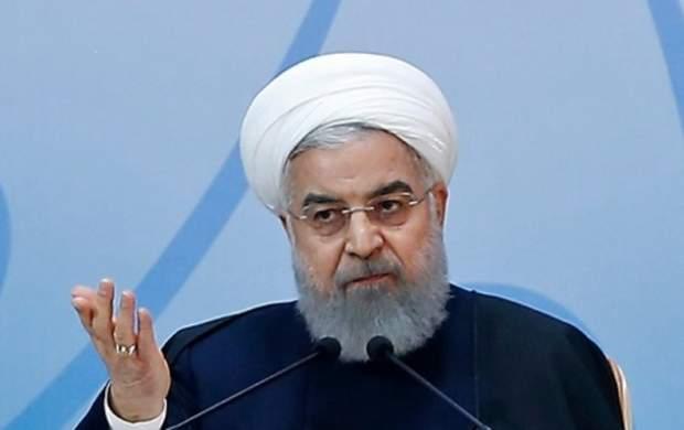 روحانی: دشمن از نرسیدن به هدف خود عصبانی است