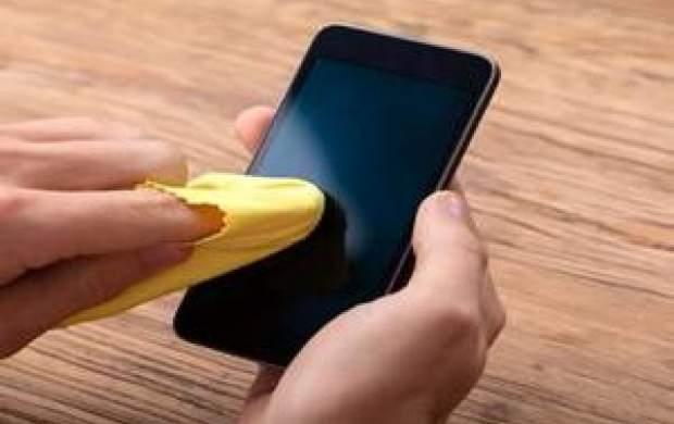 نحوه صحیح ضدعفونی کردن تلفن همراه در کرونا