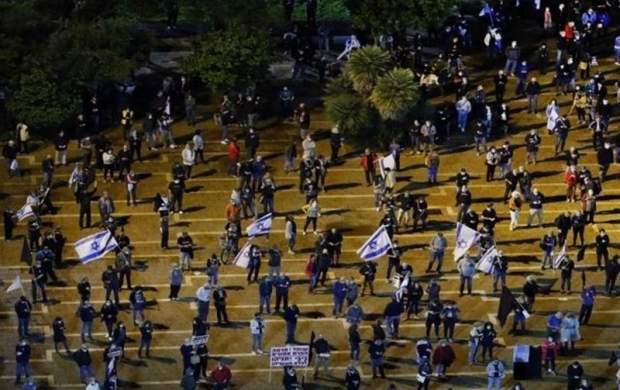 تظاهرات هزاران صهیونیست در اعتراض به فساد