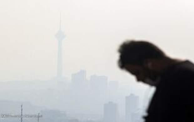 تهران در پاییز چند روز آلوده بوده است؟
