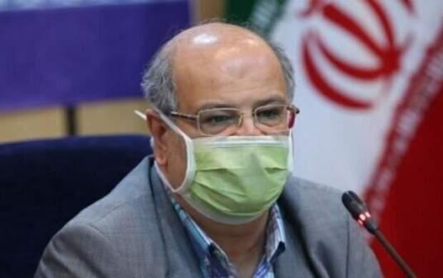 زالی: وضعیت کرونا در تهران شکننده است