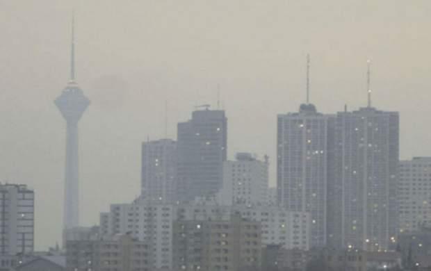 هشدار به شهروندان درباره هوای پایتخت