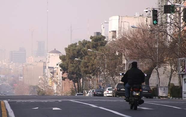 وضعیت هوای تهران هنوز قرمز است