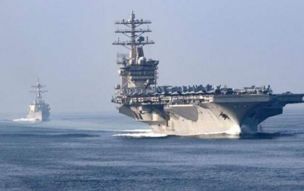 ناو آمریکایی دوباره به تله خلیج فارس بازگشت!