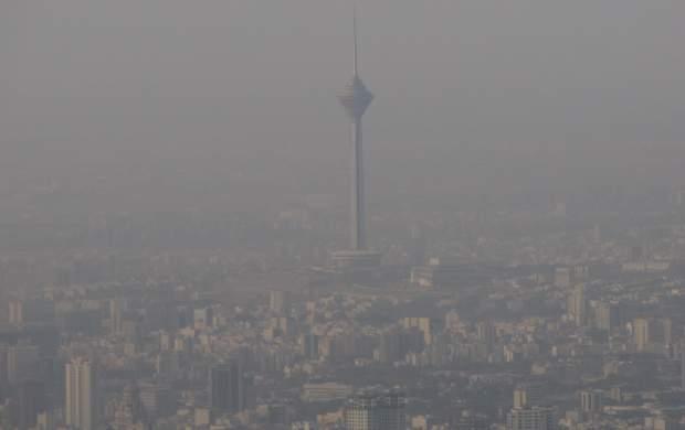 استمرار آلودگی هوا در کلانشهرها تا سه شنبه