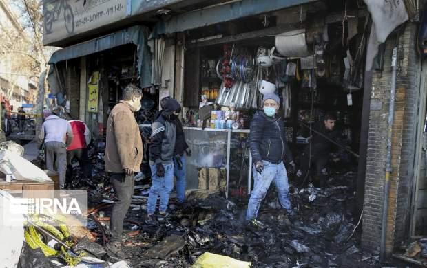 """آتش سوزی در میدان رازی  <img src=""""http://cdn.jahannews.com/images/picture_icon.gif"""" width=""""16"""" height=""""13"""" border=""""0"""" align=""""top"""">"""