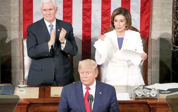 پلوسی: ترامپ نمیتواند خود را عفو کند