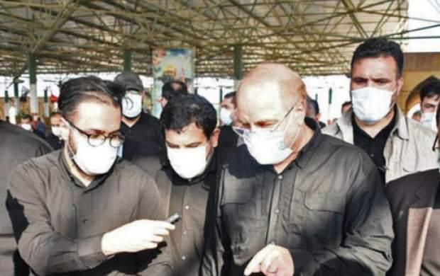 استقبال رهبرانقلاب از سفرهای استانی قالیباف