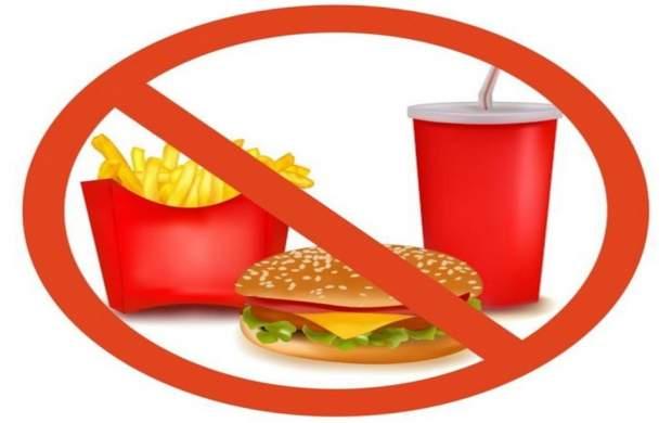 مصرف فست فود در هوای آلوده ممنوع!