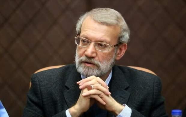 لاریجانی: تحریمها باید یکجا برداشته شود