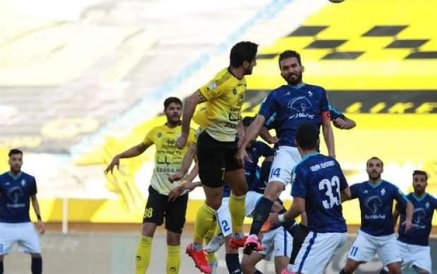 جدول لیگ برتر فوتبال در پایان دیدارهای امروز