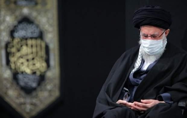 عزاداری شب شهادت حضرت فاطمه در حسینیه امام
