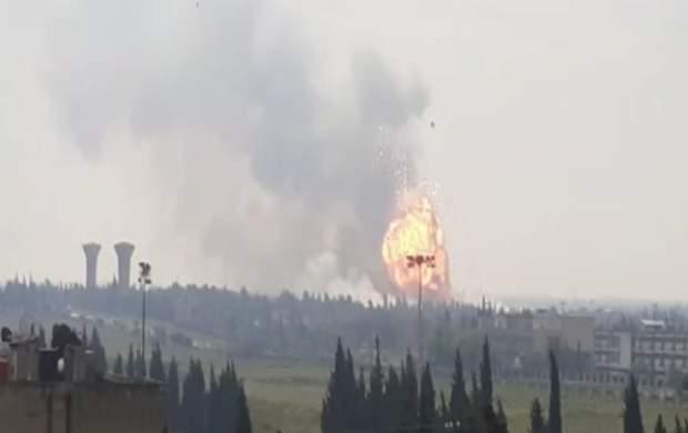 انفجار بزرگ در حمص سوریه