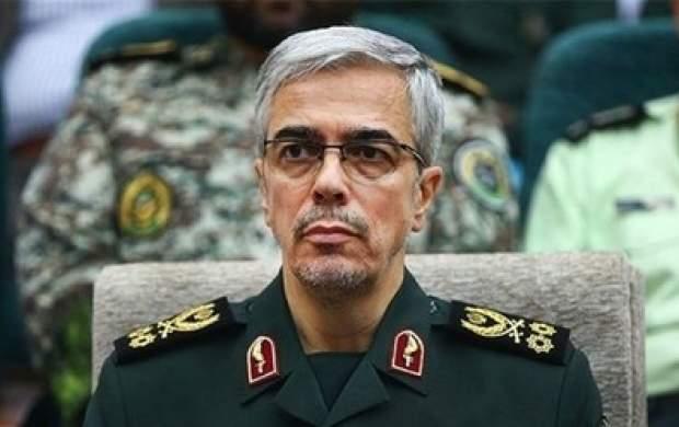 پیام تبریک سرلشکر باقری به رهبرانقلاب