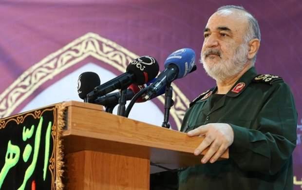 تشکر ویژه فرمانده کل سپاه از رسانه ملی